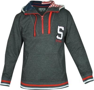 Gini & Jony Full Sleeve Solid Boy's Sweatshirt