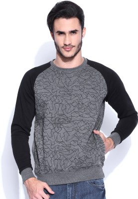 HRX by Hrithik Roshan Full Sleeve Printed Men's Sweatshirt