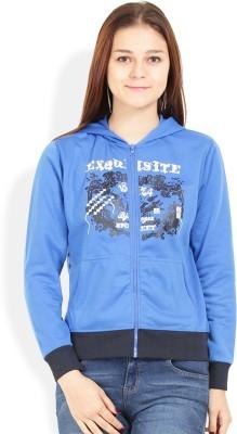 Jademist Full Sleeve Printed Women's Sweatshirt