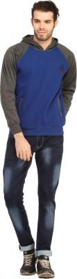 Rockhard Full Sleeve Solid Men's Reversible Sweatshirt