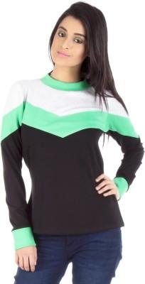Vea Kupia Full Sleeve Striped Women's Sweatshirt