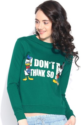 Kook N Keech Full Sleeve Printed Women's Sweatshirt