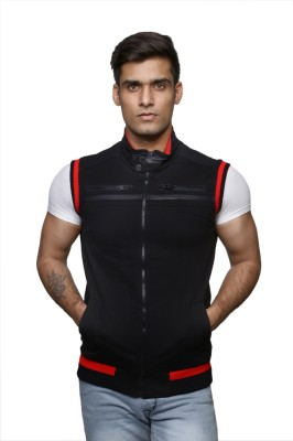 Colourblues Sleeveless Printed Men,s Sweatshirt