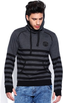 Roadster Full Sleeve Self Design Men's Sweatshirt