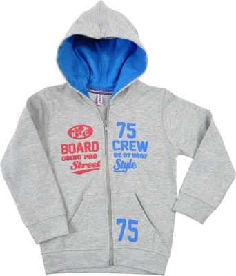 Perky Full Sleeve Printed Girl's Sweatshirt