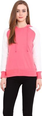 La Stella Full Sleeve Solid Women's Sweatshirt