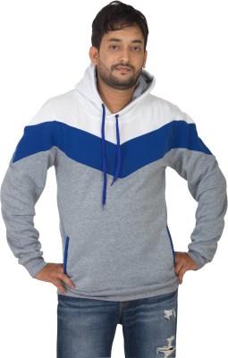 Modo Vivendi Full Sleeve Striped Men's Sweatshirt