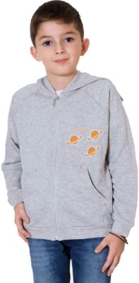 Aristot Full Sleeve Solid Boy's Sweatshirt