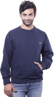 Slazenger Full Sleeve Solid Men's Sweatshirt