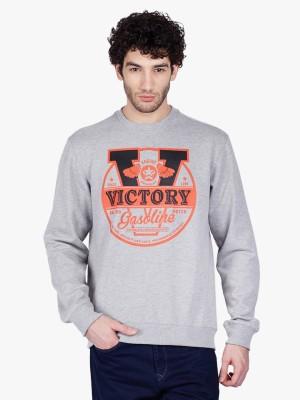 3 Degre Full Sleeve Graphic Print Men's Sweatshirt
