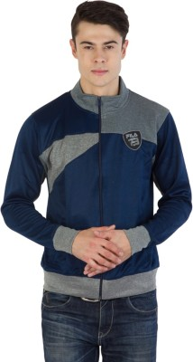 Fila Full Sleeve Self Design Men's Sweatshirt