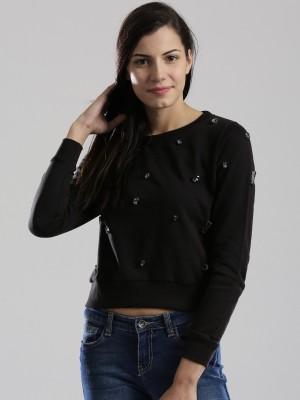 Dressberry Full Sleeve Solid Women's Sweatshirt