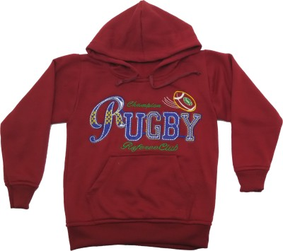 Krazzy Collection Full Sleeve Embroidered Boy's Sweatshirt