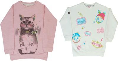 Indirang Full Sleeve Printed Girls Sweatshirt