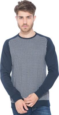 Status Quo Full Sleeve Checkered Men's Sweatshirt