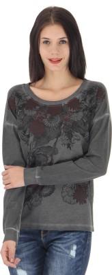 Vero Moda Full Sleeve Floral Print Womens Sweatshirt