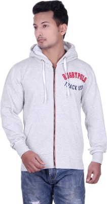 UNITED RUGBY POLO Full Sleeve Embroidered Men's Sweatshirt