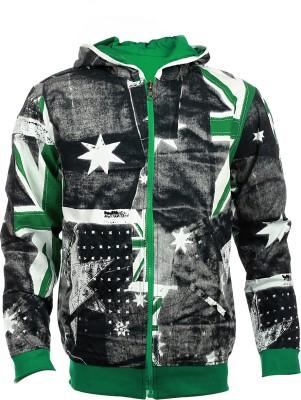 Lumber Boy Full Sleeve Self Design Boy's Reversible Sweatshirt