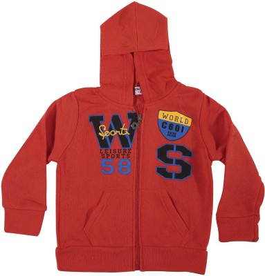 Zonko Style Full Sleeve Printed Boy's Sweatshirt