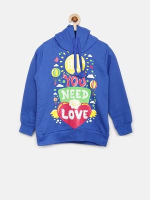 Sera Full Sleeve Printed Girl's Sweatshirt