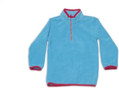 Nino Bambino Full Sleeve Solid Girl's Sweatshirt