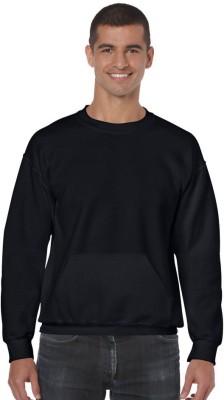Giftsmate Full Sleeve Solid Men's Sweatshirt