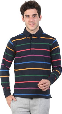 Bongio Full Sleeve Striped Men's Sweatshirt