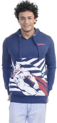 Superman Full Sleeve Printed Men,s Sweatshirt