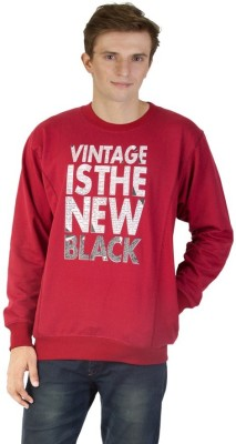 Thinline Full Sleeve Printed Men's Sweatshirt