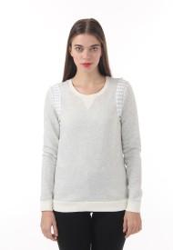 Vero Moda Full Sleeve Solid Women's Sweatshirt
