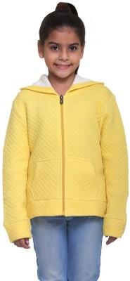 Kids-17 Full Sleeve Solid Girls Sweatshirt