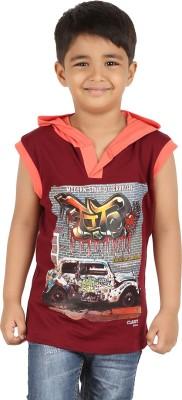 Meril Sleeveless Printed Boy's Sweatshirt