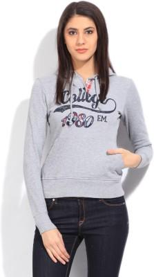 Flying Machine Full Sleeve Printed Women's Sweatshirt