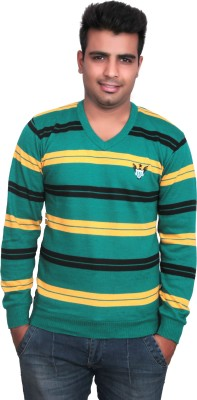 Marino Club Full Sleeve Striped Men's Sweatshirt