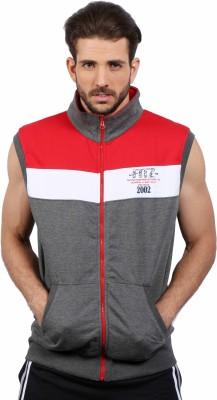 Fitz Sleeveless Solid Men's Sweatshirt