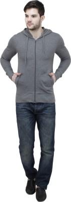 Feels Good Full Sleeve Solid Men's Sweatshirt