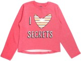 Yk Full Sleeve Printed Girl's Sweatshirt
