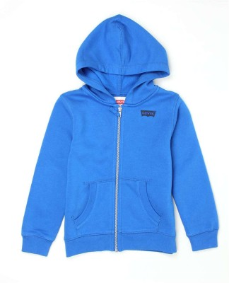 Levi's Full Sleeve Solid Boy's Sweatshirt