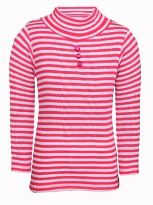 Bio Kid Full Sleeve Striped Girl,s Sweatshirt