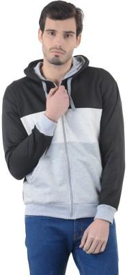 Enquotism Full Sleeve Applique Men's Sweatshirt