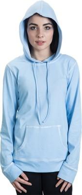 Rute Full Sleeve Solid Women's Sweatshirt