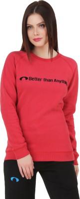Arcley Full Sleeve Solid Women's Sweatshirt
