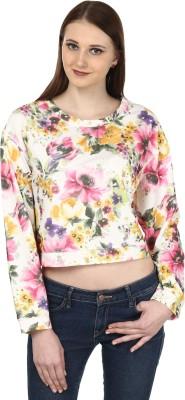 Ruse Full Sleeve Floral Print Women's Sweatshirt