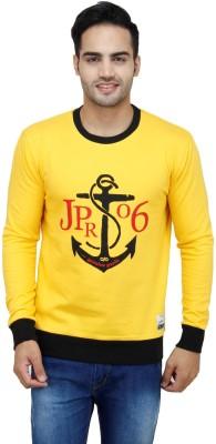 Jprana Full Sleeve Solid Men's Sweatshirt