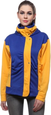 TeeMoods Full Sleeve Solid Women's Sweatshirt at flipkart