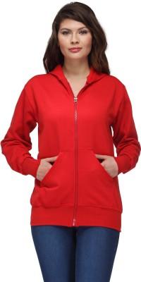 Oleva Full Sleeve Solid Women's Sweatshirt