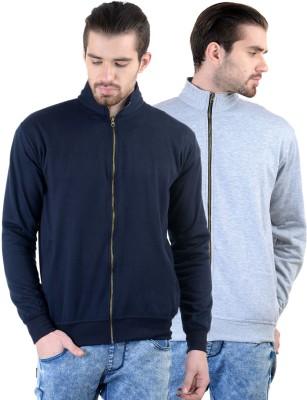 Gdivine Full Sleeve Solid Men's Sweatshirt
