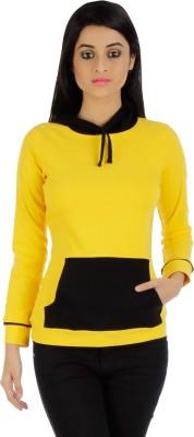 Vea Kupia Full Sleeve Solid Women,s Sweatshirt