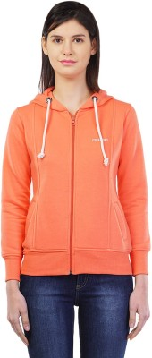 Cashewnut 3/4 Sleeve Self Design Women's Sweatshirt