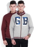 Pepe Jeans Full Sleeve Solid Men's Sweat...